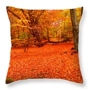 Epping Forest Hrd Version Throw Pillow