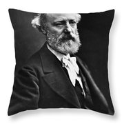 Eugene Viollet-le-duc (1814-1879) Throw Pillow