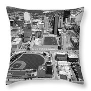 Fifth Third Field Toledo Ohio Throw Pillow
