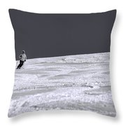 First Run Throw Pillow