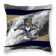 Florida Panthers Throw Pillow