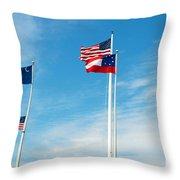 Fort Sumter, Sc Throw Pillow