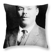 Francisco 'pancho' Villa (1878-1923) Throw Pillow