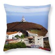 Frontera Region On Hierro Throw Pillow