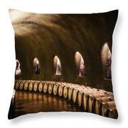 Fruits Of The Vine Throw Pillow