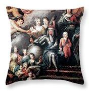 George I (1660-1727) Throw Pillow