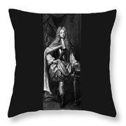 George II (1683-1760) Throw Pillow