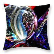 Glass Abstract 99  Throw Pillow