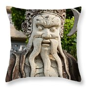 Grand Palace, Bangkok Throw Pillow