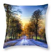 Greenwich Park London Throw Pillow