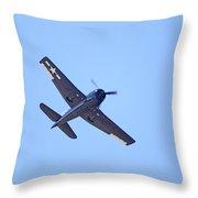 Grumman Hellcat Throw Pillow