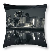 Guggenheim Museum Designed By Frank Throw Pillow