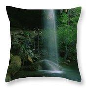 Hamilton Pool Nature Preserve Throw Pillow
