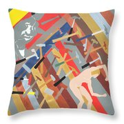 Hammered Throw Pillow