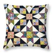 Hand Made Quilt Throw Pillow