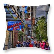 Hard Rock Cafe - Seattle Throw Pillow