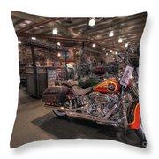 Harley Davidson Throw Pillow