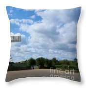 Heage Windmill Throw Pillow