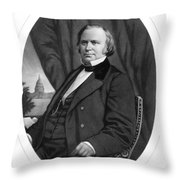 Henry Wilson (1812-1875) Throw Pillow