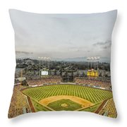 Home Of The Dodgers Throw Pillow