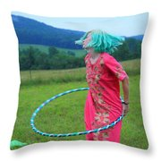 Hooping Rw2k14 Throw Pillow