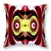 Horizon Abstract Throw Pillow