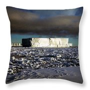 Iceberg In The Ross Sea Antarctica Throw Pillow