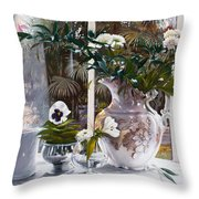 Il Vaso Inglese Throw Pillow