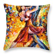 In The Rhythm Of Tango Throw Pillow