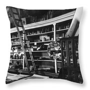 Interior The Old Store Pearce Mercantile Ghost Town Pearce Arizona 1971 Throw Pillow