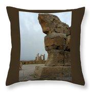 Iran Persepolis Throw Pillow