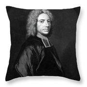 Isaac Watts (1674-1748) Throw Pillow