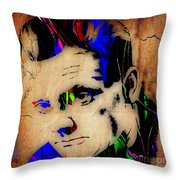 James Cagney Collection Throw Pillow