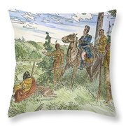 Joseph Brant (1742-1807) Throw Pillow
