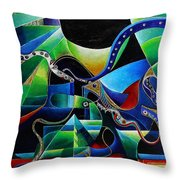Joseph In Egypt Throw Pillow