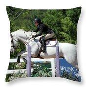 Jumper34 Throw Pillow
