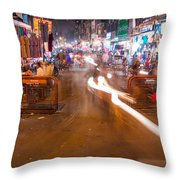 Katra Market Throw Pillow