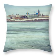 Kazan Kremlin Throw Pillow