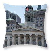 Kings Court Throw Pillow