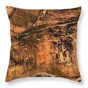 3 Kings Rock Art Throw Pillow