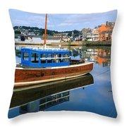 Kinsale Co Cork Ireland Throw Pillow