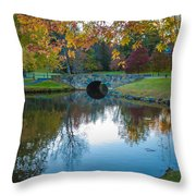 Lake Reflections Throw Pillow