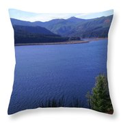 Lakes 4 Throw Pillow