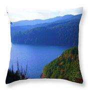 Lakes 6 Throw Pillow