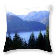 Lakes 8 Throw Pillow