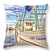 Last Chance - Hdr Throw Pillow