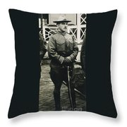 Leonard Wood (1860-1927) Throw Pillow