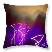 Light Fantastique Throw Pillow