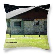 Limestone House Throw Pillow