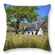 Little Farm House Throw Pillow